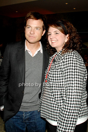 Jason Bateman and Katie Lithlinder