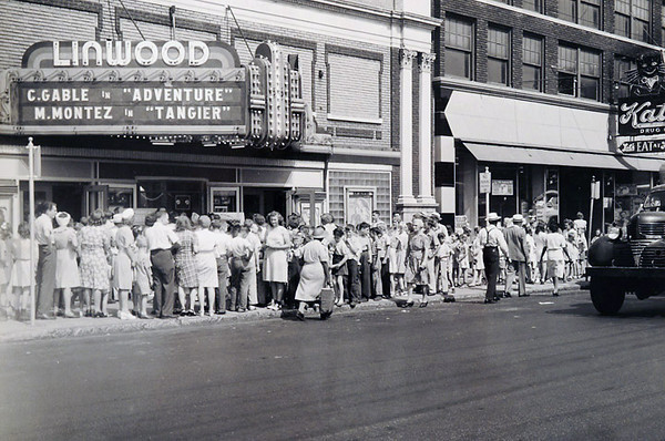 Linwood Theatre WWII Scrapbook KC, Mo
