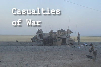 """Making Pictures"" The Documentary Film: ""Casualties of War"" Scene"