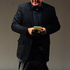 """Martin Sheen makes a joke about his book before the """"conversation.""""<br /> Distinguished actor, Martin Sheen, was the 2012  Boulder International Film Festival winner of the Master of Cinema Award.<br /> For a video and photos of Sheen, go to  <a href=""""http://www.dailycamera.com"""">http://www.dailycamera.com</a>.<br /> Cliff Grassmick / February 18, 2012"""
