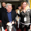 """Martin Sheen greets the media and guests with Robin Beeck, Festival Director of BIFF.<br /> Distinguished actor, Martin Sheen, was the 2012  Boulder International Film Festival winner of the Master of Cinema Award.<br /> For a video and photos of Sheen, go to  <a href=""""http://www.dailycamera.com"""">http://www.dailycamera.com</a>.<br /> Cliff Grassmick / February 18, 2012"""