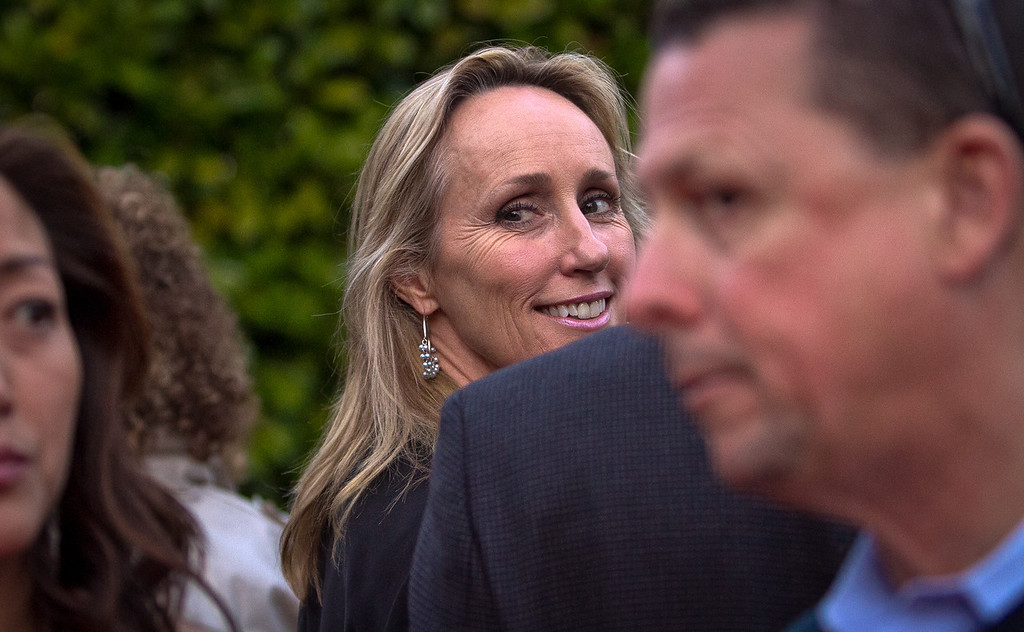 Susannah Robbins, executive director of the San Francisco Film Commission at the opening of the Mill Valley Film Festival in Mill Valley, Calif., is seen on Thursday, Oct. 4th, 2012.