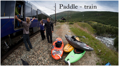 Paddle train is my newest project. During two weeks last summer four paddlers travelled only with train around in Norway to paddle some of the best white water you can fins along the railway. Rivers like Raundalselvi, Moldåi, Ustekveikja, Ustenåi, Driva and Rauma gave us fantastic a fantastic time, and a way harder mission than we expected. We only brought what we could carry in our kayaks. No extra clothes or shoes. Just one dry sett in the back of the boat together with a sleeping bag and a term a-rest...   On the mission was Lukas Wielatt, Ron Fischer, Tomas Marnics and Benjamin Hjort. The movie is filmed, edited and copyrighted to Benjamin Hjort. Big thanks to Ugress for a great soundtrack. Visit their webpage  http://www.ugress.com, and listen to some great music!