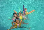 """""""Aunt Jenny and the girls and the floaties, Part !!""""  Just a little one."""