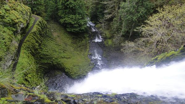 Tunnel & Twister Falls, Eagle Creek April 21st 2013