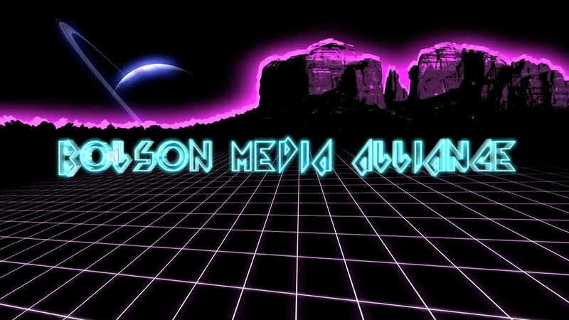 Bolson Media Alliance Logo Sequence
