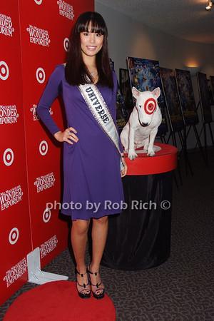 Miss Universe Riyo Mori, Bullseye photo by Rob Rich © 2007 516-676-3939 robwayne1@aol.com