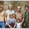 Photograph was taken at The Timken Stables on 13th Street in Canton, Ohio. Last day of shooting in 1976.