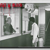 Chuck Ellis & Harold Brown in the police station scene.<br /> This scene was shot on sound film at the Canton Police Station. For the directors cut edition of the film, radio dispatch background sounds were added to provide atmosphere.
