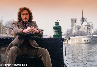 March 1993, Paris, France --- British Rock Singer Roger Daltrey --- Image by © Didier Baverel