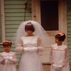 My Aunt Shelly on her wedding day.  The flower girls are my aunts Sue and Honey.