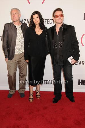 Adam Clayton, Alison Hewson, Bono<br /> by Rob Rich © 2010 robwayne1@aol.com 516-676-3939