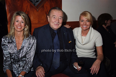 Linda Muse, Sirio Maccione, Renata Petecka photo by Rob Rich © 2007 robwayne1@aol.com 516-676-3939