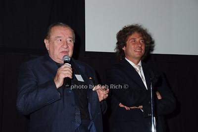 Sirio Maccione, Marco Maccione photo by Rob Rich © 2007 robwayne1@aol.com 516-676-3939