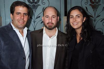Alex Fodor, Andrew Rossi, Clarita Fodor photo by Rob Rich © 2007 robwayne1@aol.com 516-676-3939