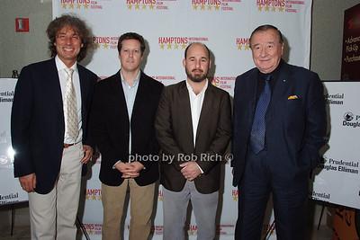 Marco Maccione,Charlie Marquardt, Andrew Rossi, Siro Maccione photo by Rob Rich © 2007 robwayne1@aol.com 516-676-3939