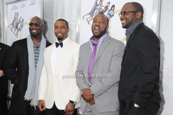 Richard Jones , Michael Jai White, Malik Yoba , Roger Bobb<br /> photo by Rob Rich © 2010 robwayne1@aol.com 516-676-3939