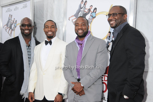 Richard Jones , Michael Jai White, Malik Yoba , Roger Bobb<br /> photo by Rob Rich © 2010 robwayne1@aol.com 516-676-3939