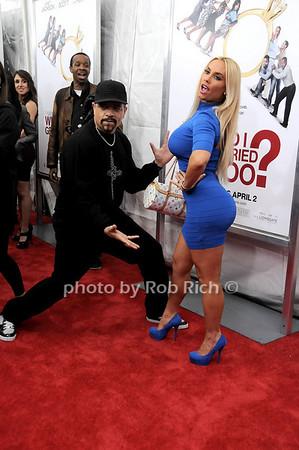 "Ice T, Nicole ""Coco"" Austin<br /> all photos by Rob Rich © 2010 robwayne1@aol.com 516-676-3939"