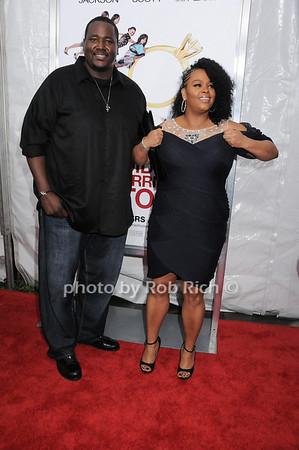 Quinton Aaron, Jill Scott<br /> photo by Rob Rich © 2010 robwayne1@aol.com 516-676-3939