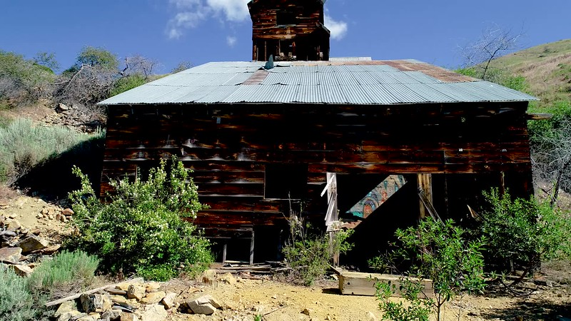 Historic Adelmann Mine in the Desert of southern Idaho