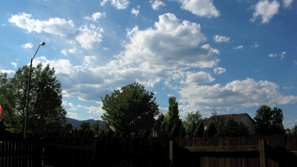 Time Lapse video of Colorado Clouds with a Canon A710IS camera, CHDK software, and Quicktime Pro