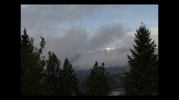 Short timelapse peice looking towards the Purcell Mountains, British Columbia.  Made using Canon 60D plugged into a laptop for shutter control.