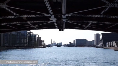 Københavns Havn med havnebus.