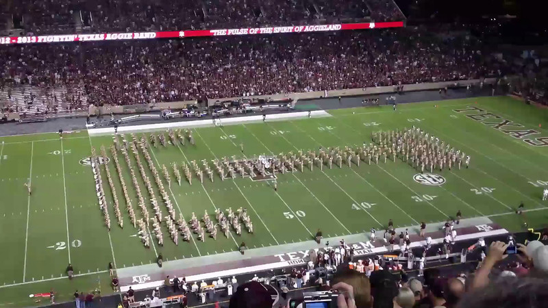 The Fighting Texas Aggie Band<br /> Part 2<br /> September 22, 2012<br /> Texas A&M vs South Carolina State