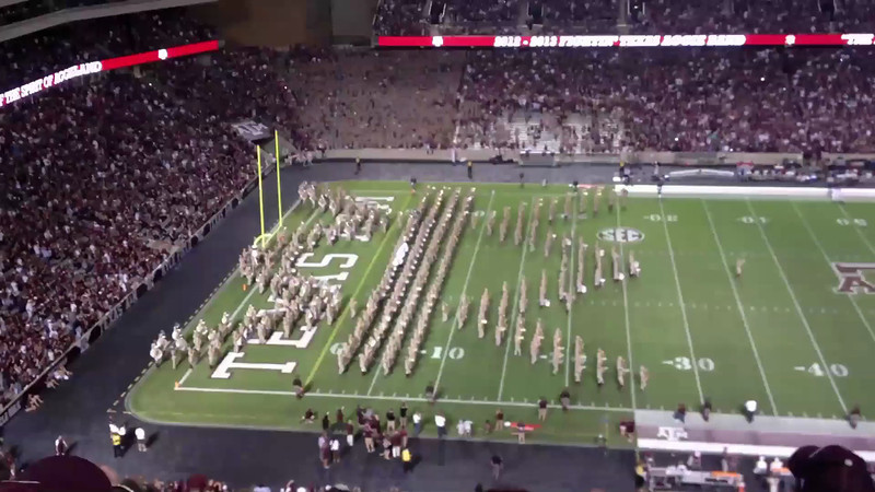 The Fighting Texas Aggie Band<br /> Part 1<br /> September 22, 2012<br /> Texas A&M vs South Carolina State
