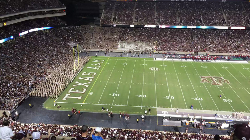 The Fighting Texas Aggie Band<br /> September 21, 2013<br /> Texas A&M vs SMU