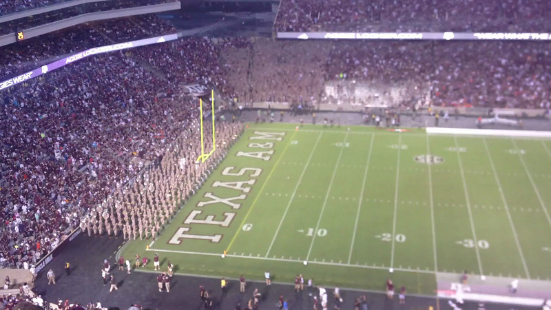 The Fighting Texas Aggie Band<br /> September 7, 2013<br /> Texas A&M vs Sam Houston State
