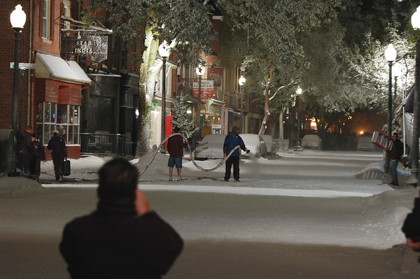 West Chester Movie Shoot - Photos