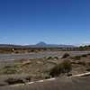 A view of Mount Ngauruhoe, seen from the Desert Road.