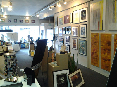 Gallery space pre-move.  Everything must go!