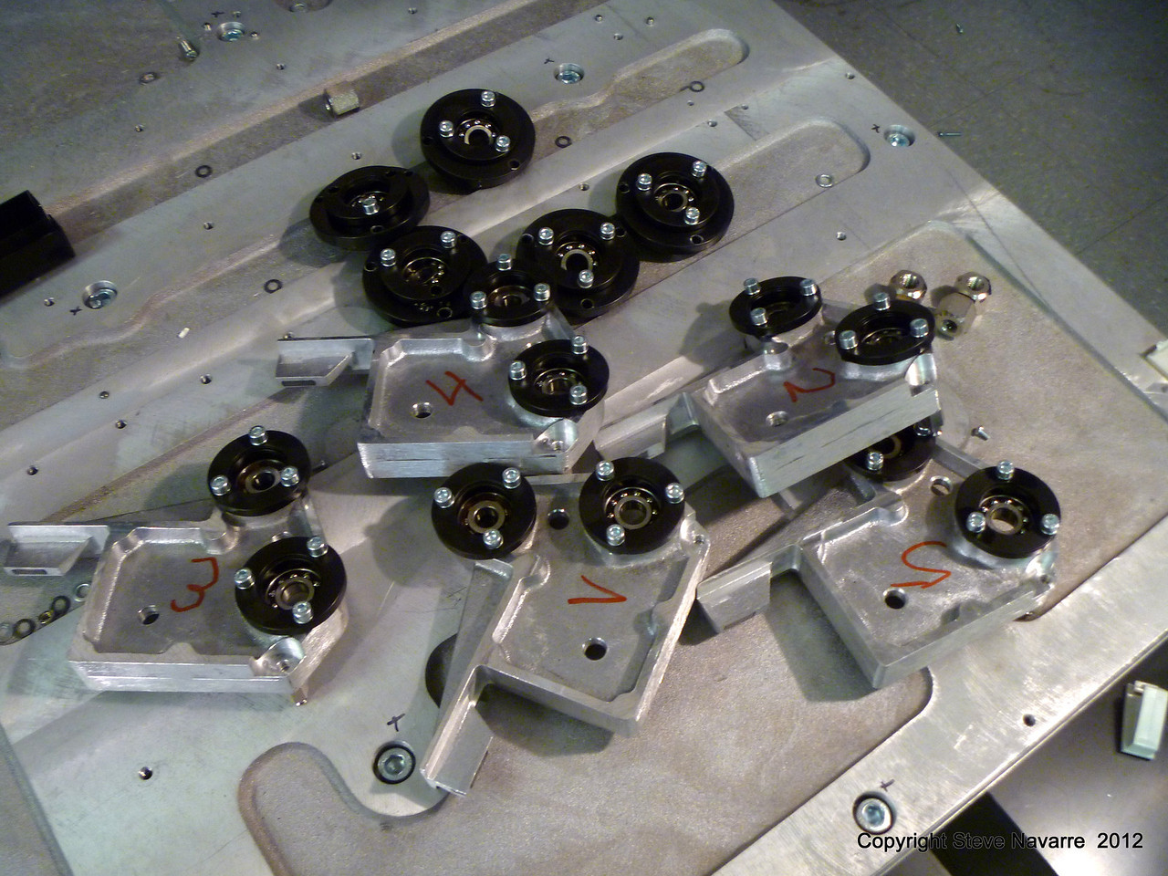 Various custom made parts.
