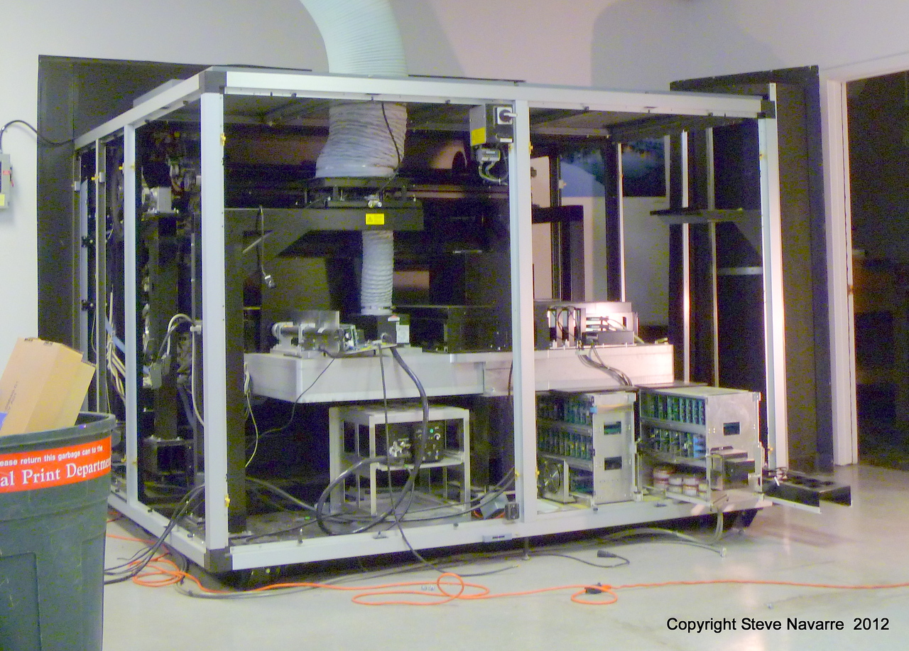 Taking out imaging electronics and lasers.