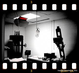 B&W darkroom.