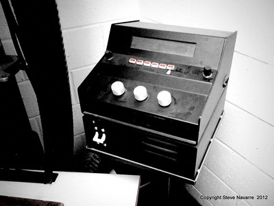 Control box for 8x10 camera.