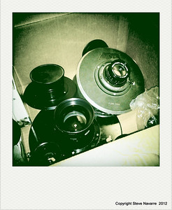 Various lenses....some expensive stuff back in the day!