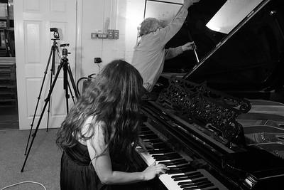 Mr Chas Ambler, piano and Kristi Michele vocals