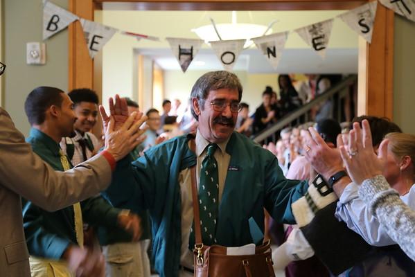 Mr. Gulotta's Honored After Teaching Last Class at Berkshire School