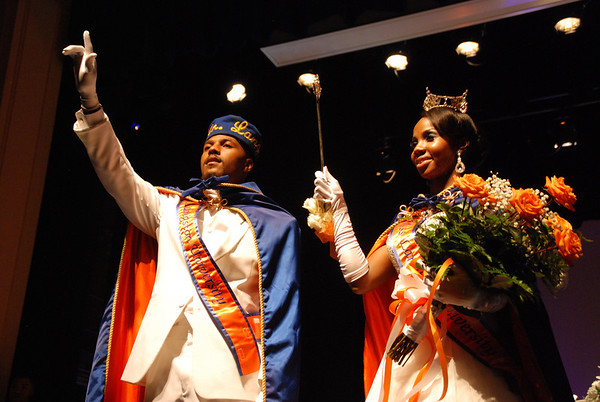 Mr. Langston University 2013 - Charles E. Tucker II and his Queen Miss Langston - Jasmine Redo