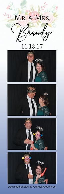Mr. & Mrs. Brandy - 11.18.17