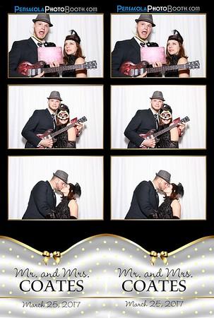 Mr. & Mrs. Coates 3-25-2017