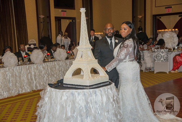 Mr. & Mrs. Eric Melton 20 years Vow Re-newer Celebration