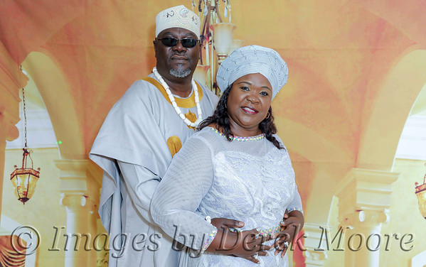 Mr. & Mrs. Ojikuto's 25th Wedding Anniversary