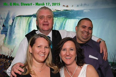 Mr. & Mrs. Stewart March 2015