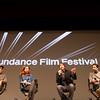 """Danny Glover, Maya Rudolph, Diego Luna, and José María Yazpik speak to Sundance audience at world premier of """"Mr. Pig"""" (photo courtesy Angela Santos)"""