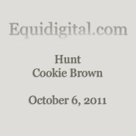 10-6-2011 - Hunt - Cookie Brown - 01
